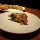 温野菜とたまごのスフレ