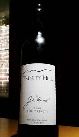 Trinity Hill The Trinity Hawkes Bay CS CF Mer et Syr  2010